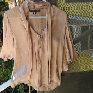 Pure silk Ralph Lauren top